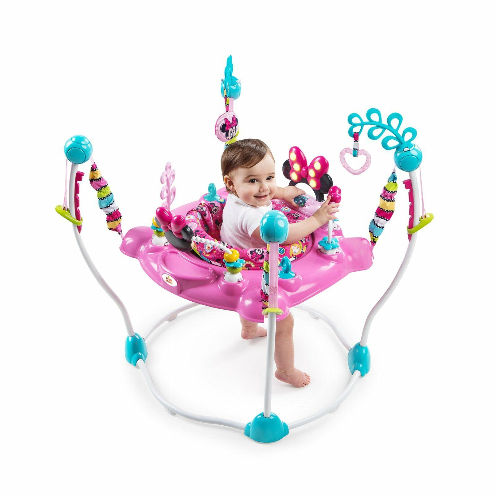 Toys Bright Starts Minnie Mouse PeekAboo Activity Jumperoo
