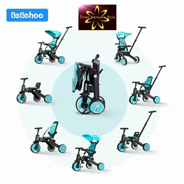 Bebehoo Gen 2 Folding Trike 3in1 – Yellow 2