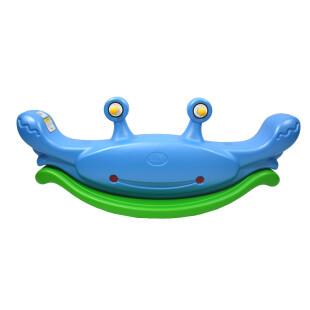 Toys Lerado Cute Crab Seesaw Jungkat Jungkit – Blue