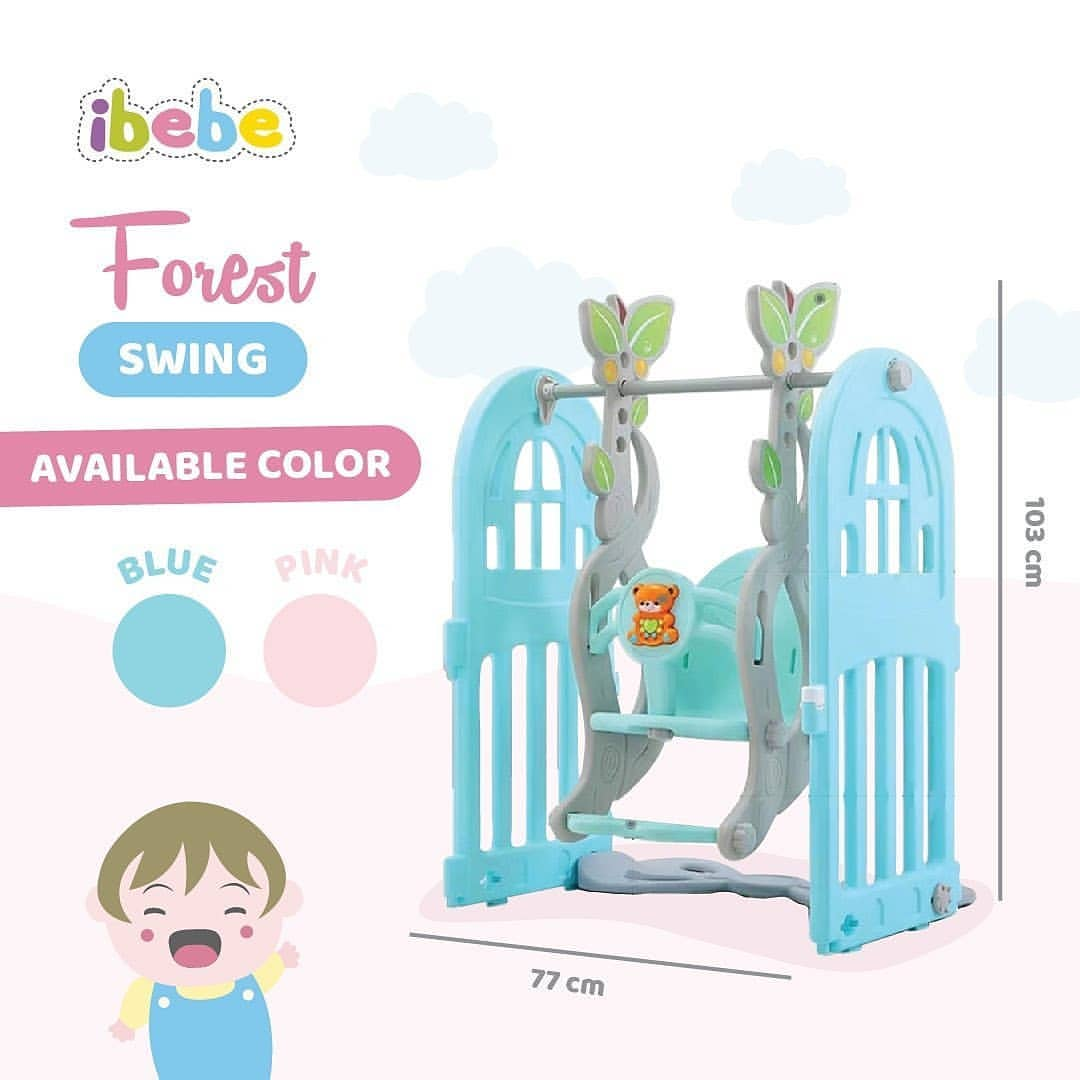 Playhouse & Tents Ibebe Forest Swing – Blue