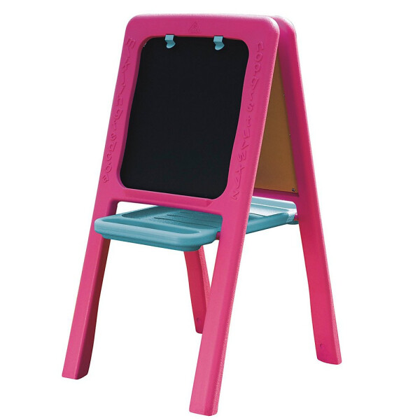 Toys ELC Plastic Double Sided Easel Chalkboard – Pink