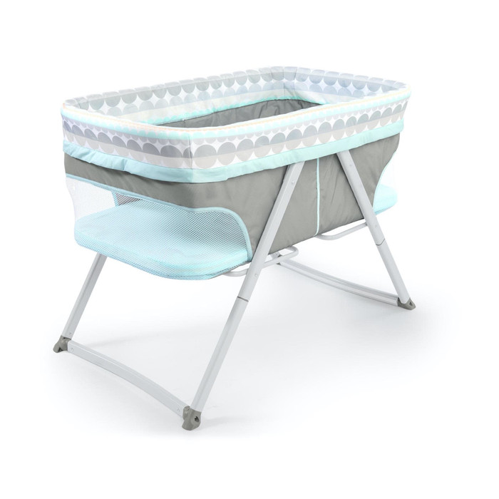 Nursery Ingenuity Foldaway Rocking Bassinet – Juniper