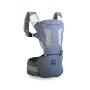 Carrier i-Angel Magic 7 Folding Hipseat Baby Carrier – Melange Blue