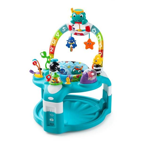 Toys Baby Einstein 2in1 Light & Sea Activity Gym and Saucer Jumperoo