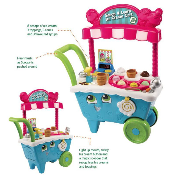 Leapfrog Scoop and Learn Ice Cream Cart 2