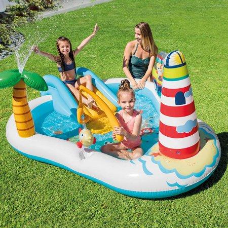 Toys Intex Fishing Fun Play Center Kids Pool