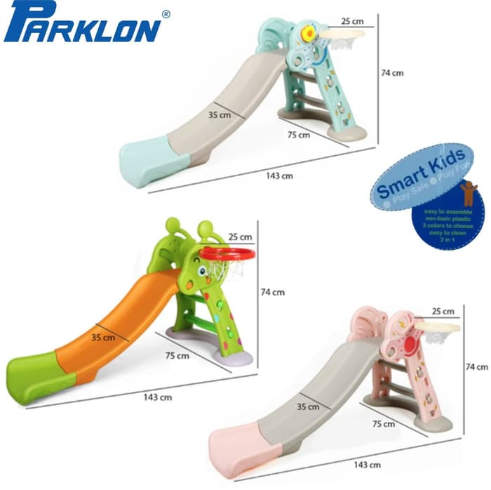 Toys Parklon Fun Slide Perosotan – Blue