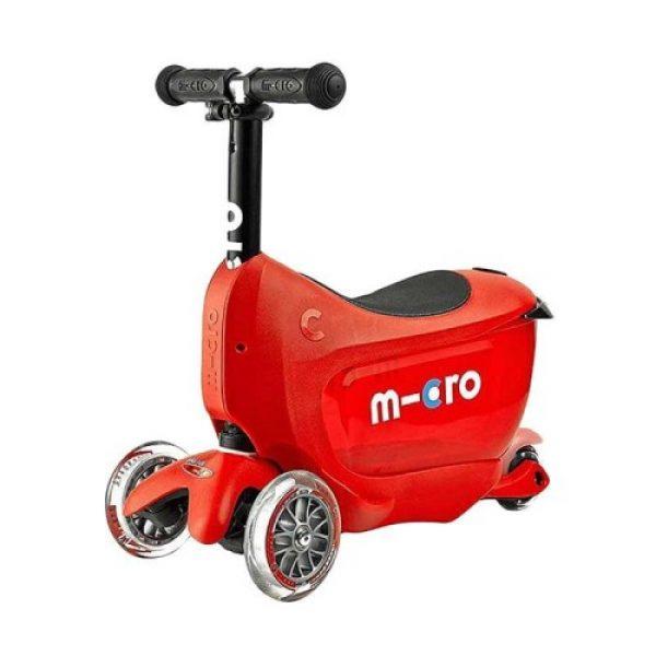Micro Mini2Go Deluxe Scooter – Red