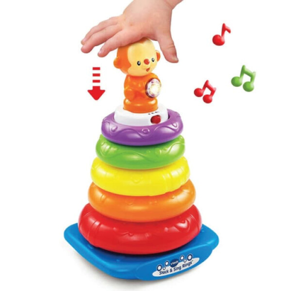 Toys VTech Stack and Discover Rings