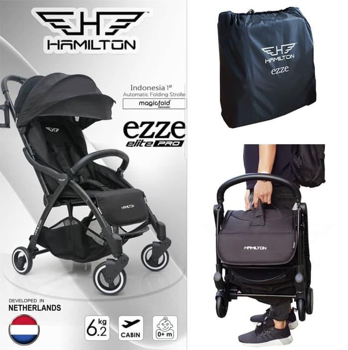 Stroller Hamilton Ezze Elite Pro Stroller – Black