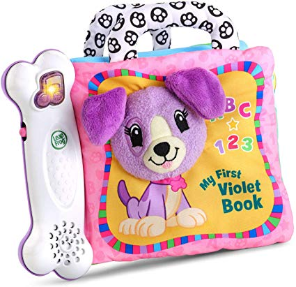 Toys LeapFrog My First Violet Book – Purple