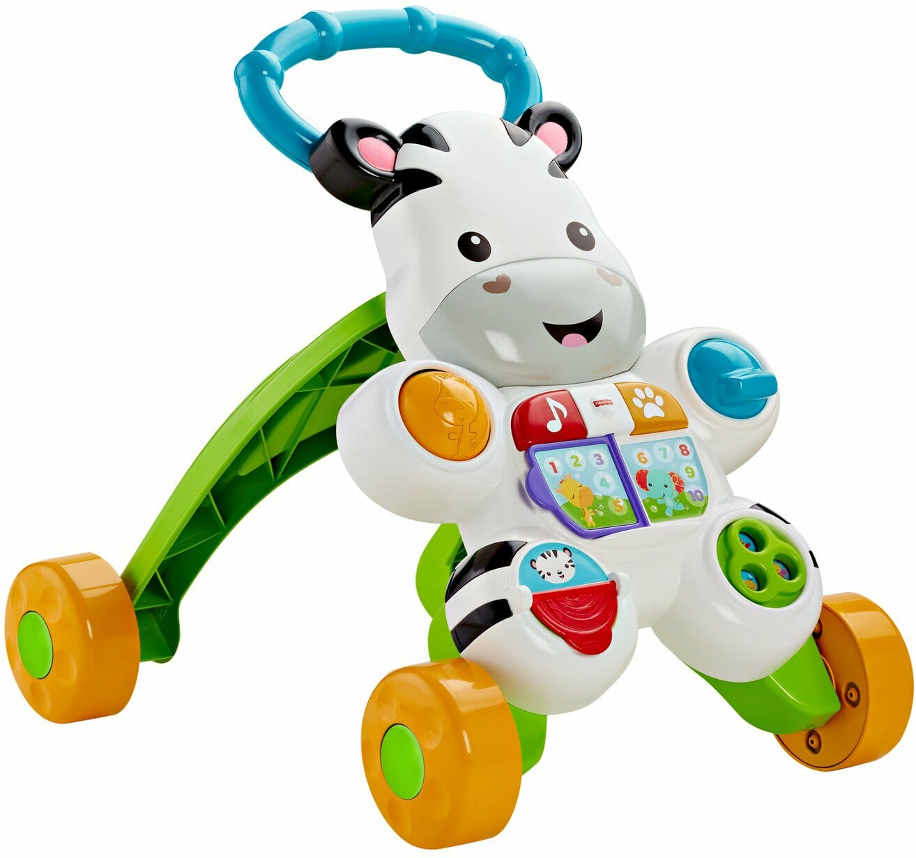 Toys Fisher Price Learn with Me Zebra Walker