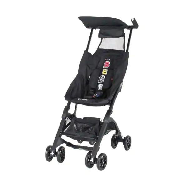 Stroller Cocolatte Pockit 788 Bebe Apes Edition – Black