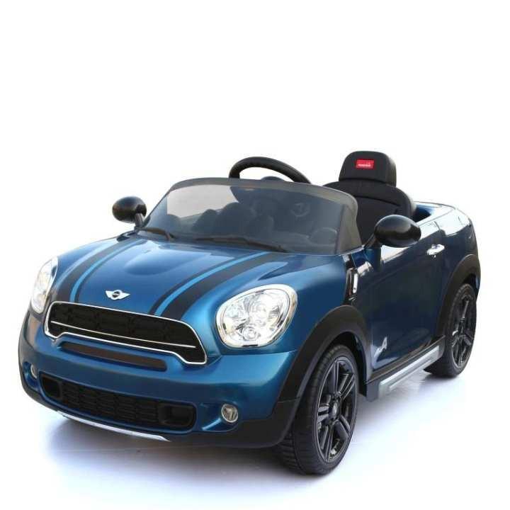 Toys Rastar Mini Cooper Countryman Electric Ride-On Car Mobil Aki