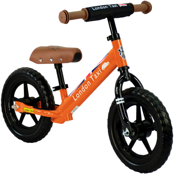 Balance Bike London Taxi Kick Bike – Orange