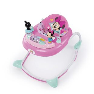 Bright Starts Minnie Mouse Stars & Smiles Baby Walker