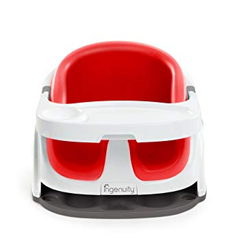 Booster Seat Ingenuity Baby Base 2-in-1 Booster Seat – Poppy Red