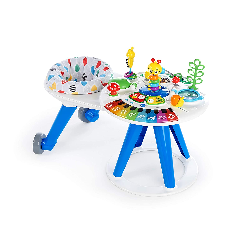 Toys Baby Einstein Around We Grow 4-in-1 Baby Walker & Activity Table