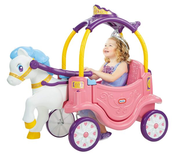 Toys Little Tikes Princess Horse And Carriage