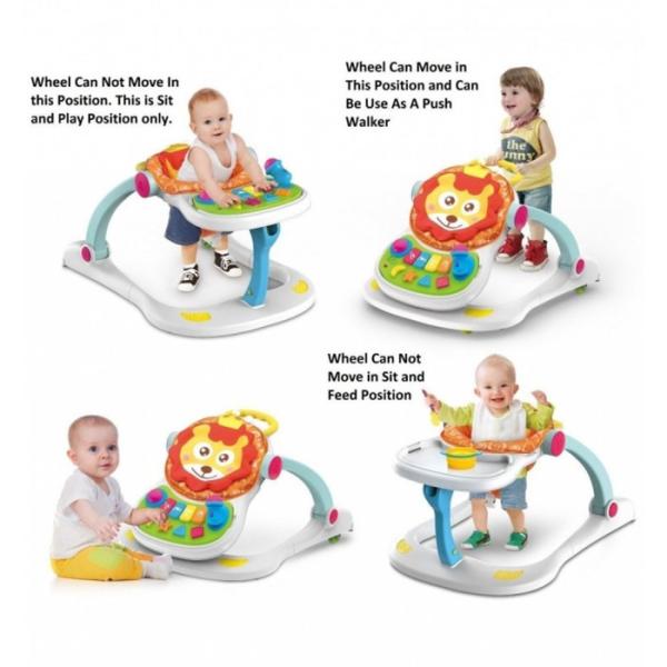 Toys Labeille 4 in 1 Entertainer Baby Walker