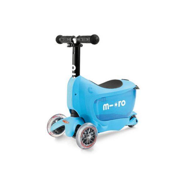 Micro Mini2Go Deluxe Scooter – Blue