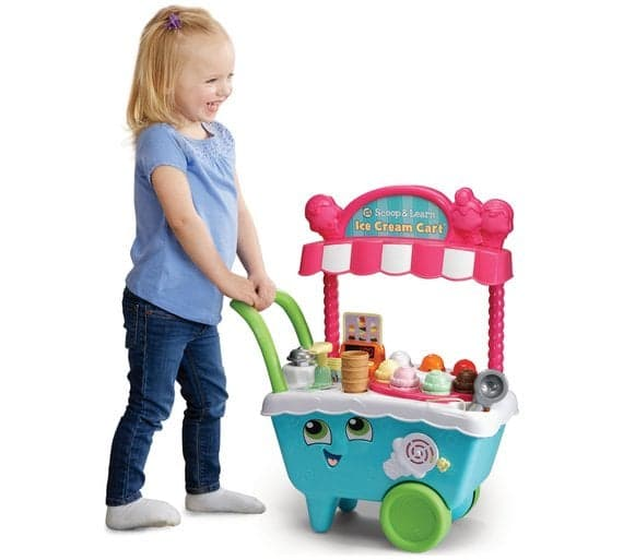 Toys Leapfrog Scoop and Learn Ice Cream Cart