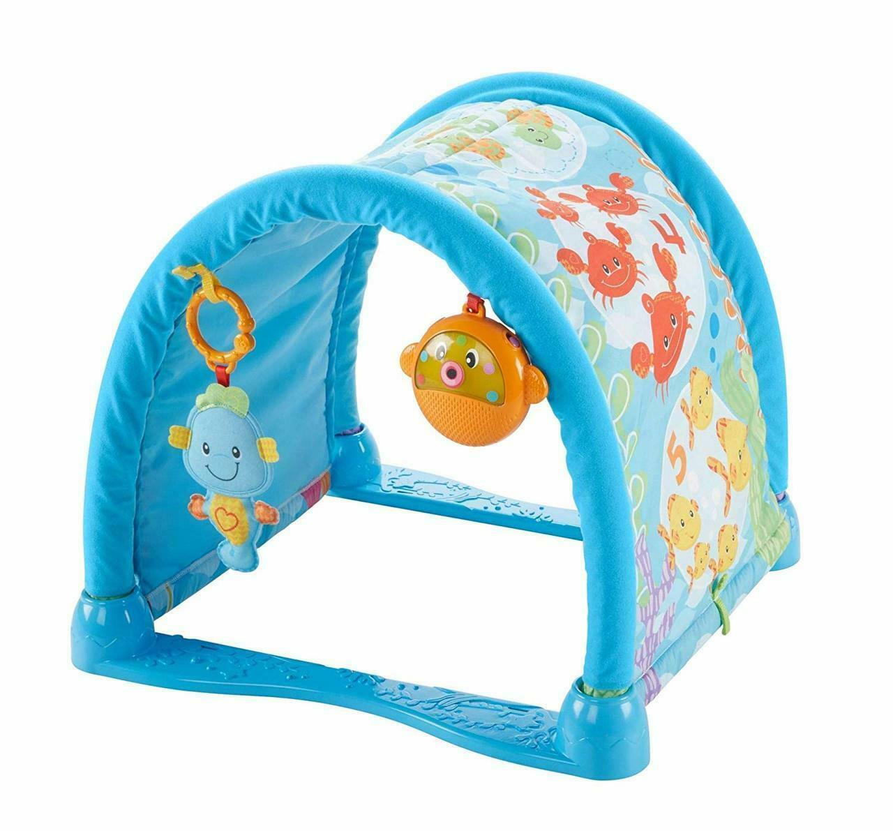 Toys Fisher Price Kick n Crawl Musical Seahorse Gym