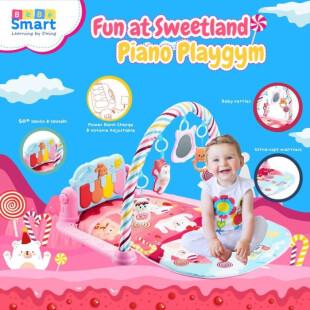 Bebe Smart 6 in 1 Piano Playmat – Fun at Sweetland Pink