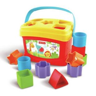 Fisher Price Brilliant Basics Baby's First Blocks Shape Sorter