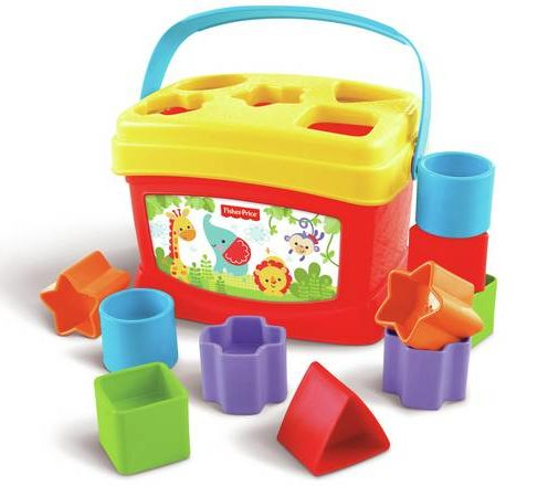 Toys Fisher Price Brilliant Basics Baby's First Blocks Shape Sorter