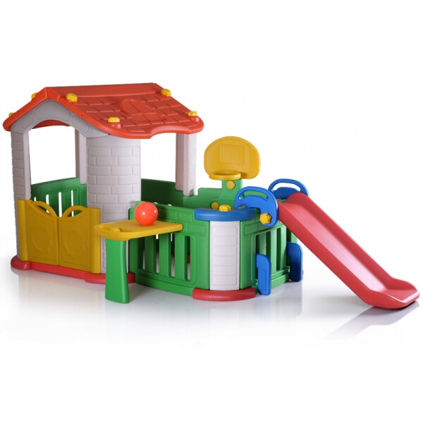 Toys Tobebe Big Happy Playhouse With 3 Play Activities