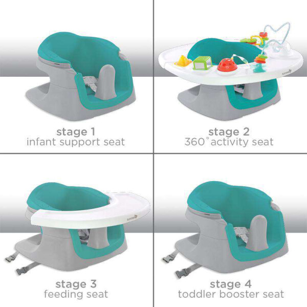 Gear Summer Infant 4 in 1 Deluxe Super Seat – Teal