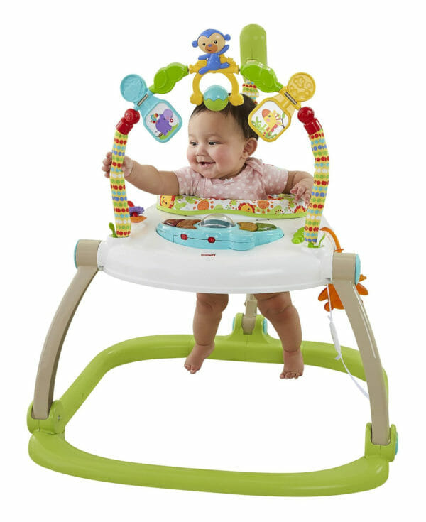 Jumperoo Fisher Price Rainforest Friends Space Saver Jumperoo