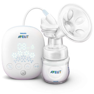 Breastpump Philips Avent Single Electric Breastpump SCF301/01