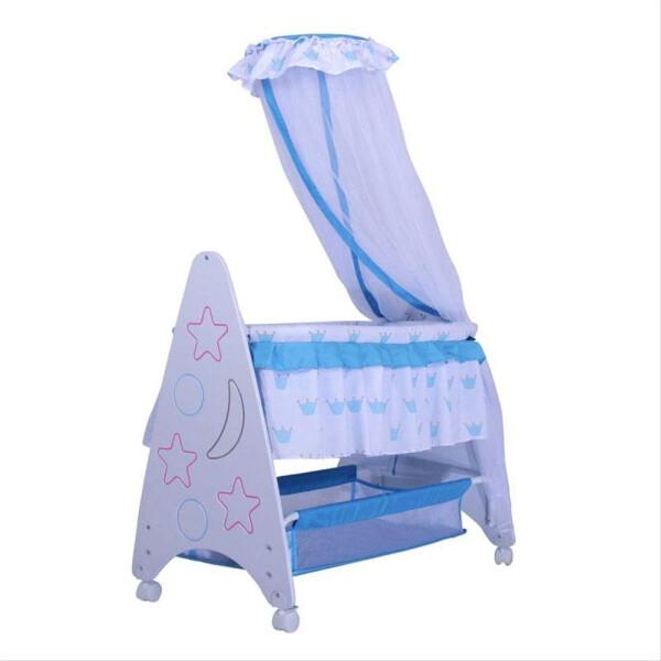 Nursery Pliko B161R Deluxe Baby Box Tempat Tidur Bayi – Blue