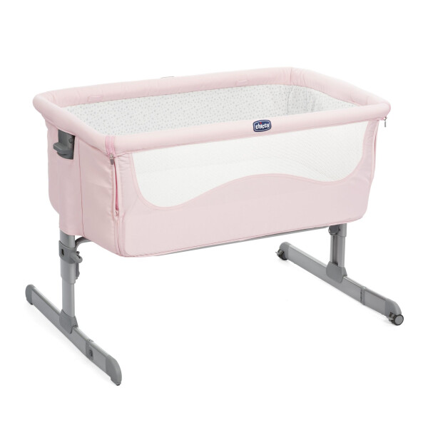 Nursery Chicco Next 2 Me Bedside Crib – French Rose (DISKON – Tanpa Tali Pengikat)