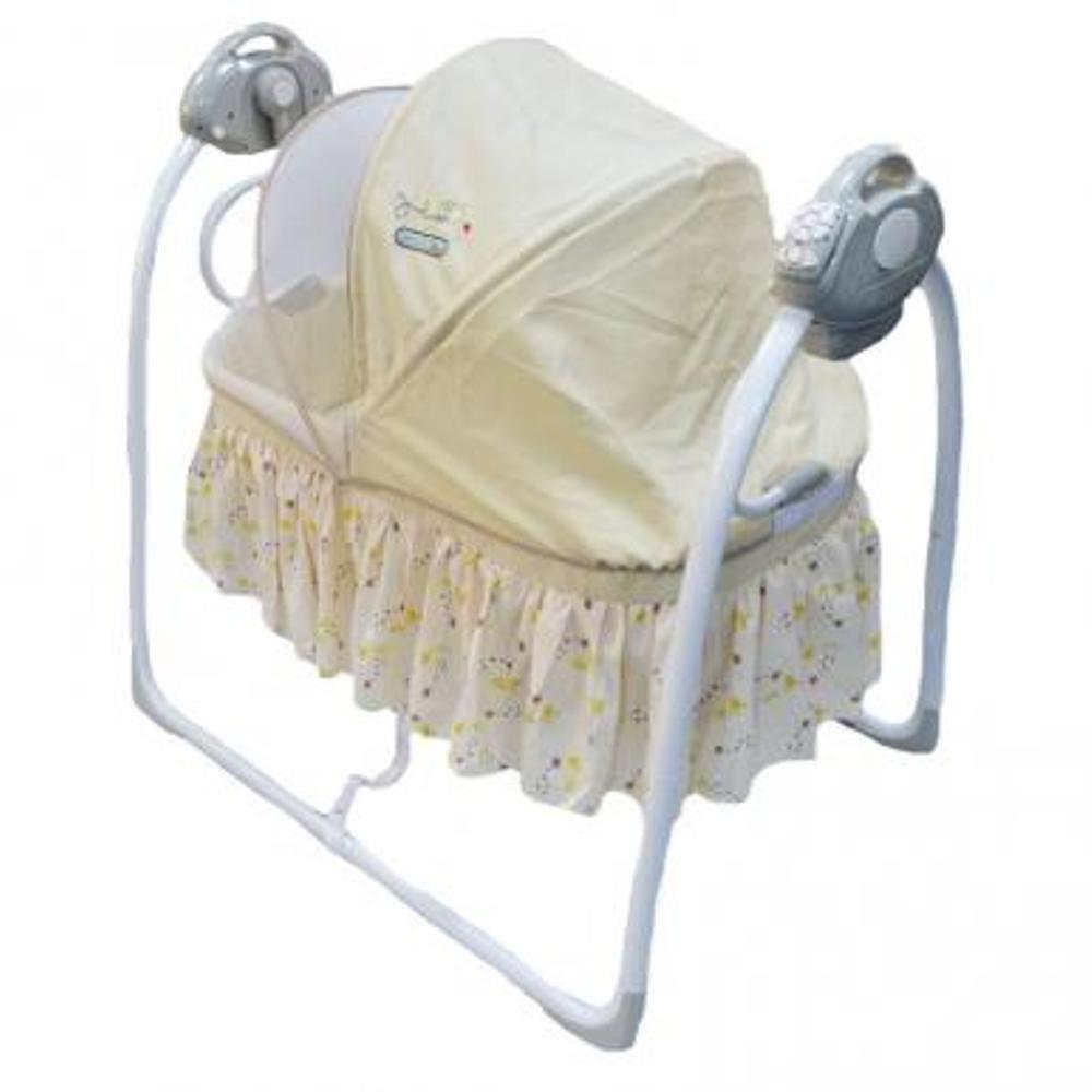 Nursery Babyelle Automatic Cradle Swing Tempat Tidur Bayi – Beige