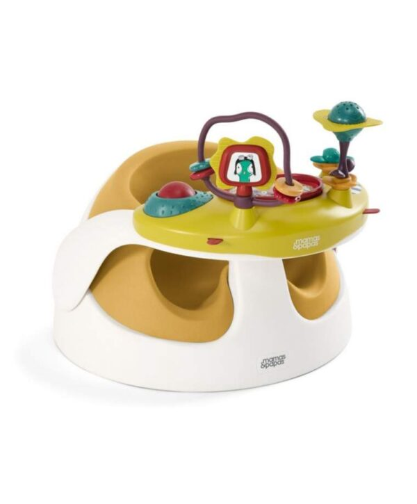 Booster & High Chair Mamas Papas Baby Snug with Play Tray – Yellow
