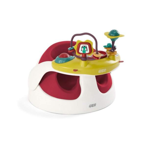 Mamas Papas Baby Snug with Play Tray – Red