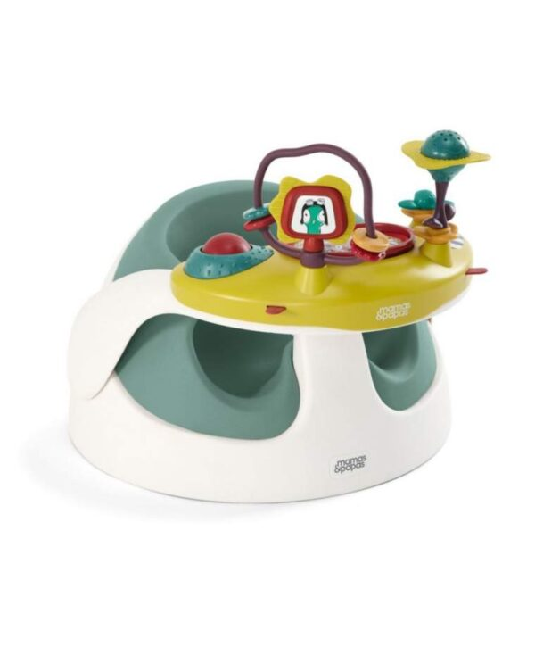 Booster & High Chair Mamas Papas Baby Snug with Play Tray – Teal