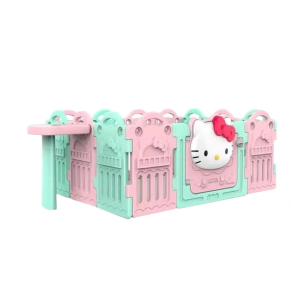 Safety Coby Haus Fence Hello Kitty