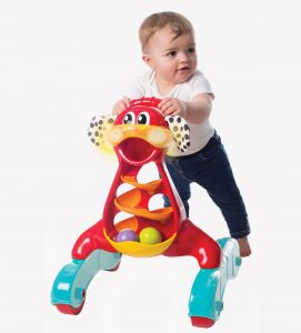 Toys Playgro Jerry's Class Step by Step Music & Lights Puppy Walker