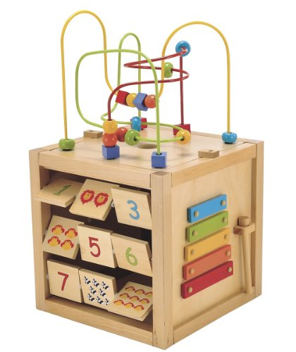 Toys ELC Giant Wooden Activity Cube