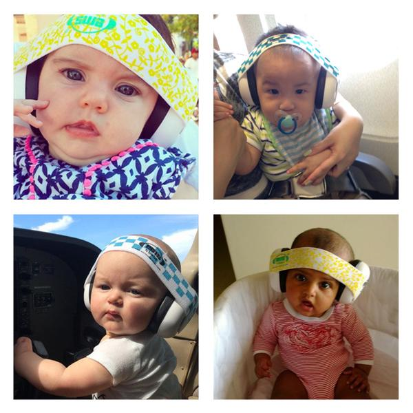 Earmuff EMS 4 Bubs Baby Earmuffs Black Bub – Oyster