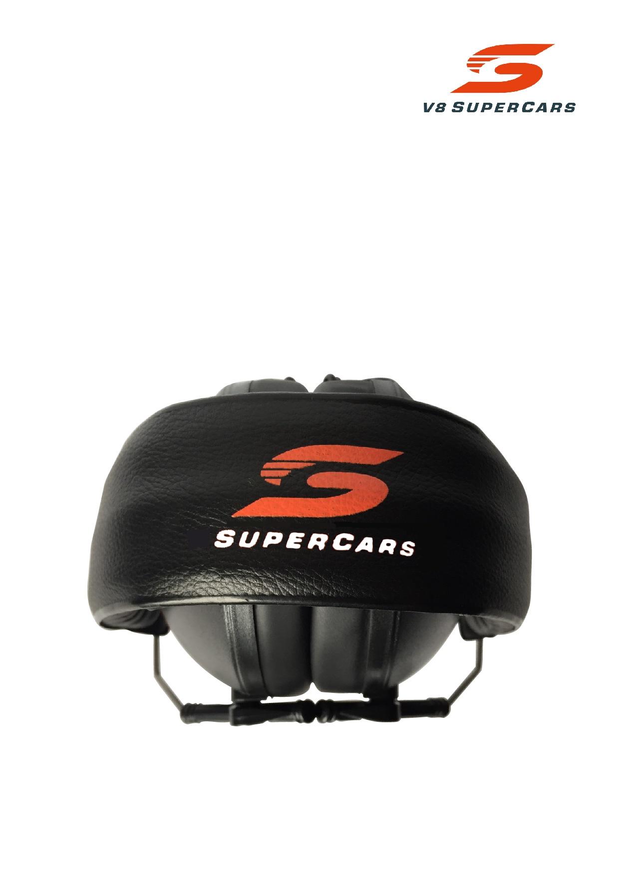 Earmuff EMS for Kids V8 Supercar