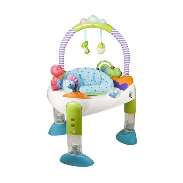 Toys Evenflo Exersaucer Fast Fold And Go Jumperoo – D is For Dino