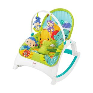 Nursery Fisher Price Rainforest Friends Newborn-to-Toddler Portable Rocker