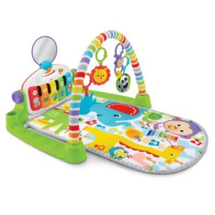 Toys Fisher Price Deluxe Kick and Play Piano Gym