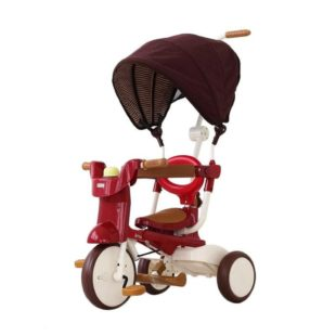 Toys IIMO Tricycle 02 SS Folding Canopy – Red