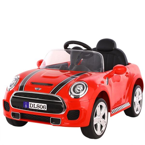 Toys Mini Cooper Style Mobil Aki – Red